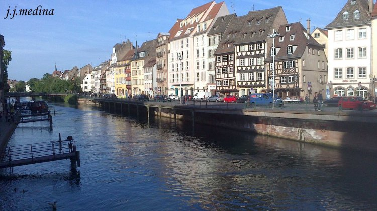 Río Ill en Estrasburgo
