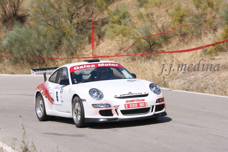 Pedro Cordero, Porsche 997 GT3 Cup Rallye