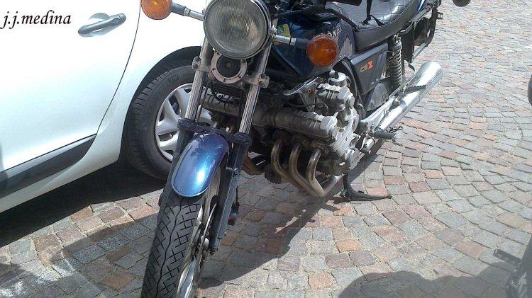 Honda CBX 1000 seis cilindros