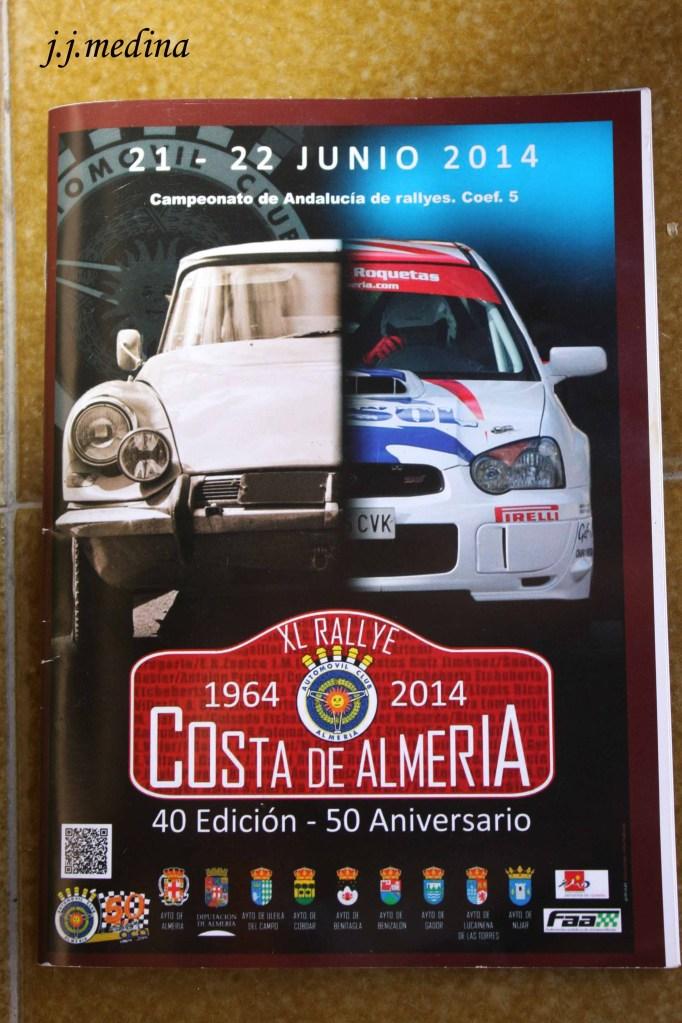 Cartel XL Rallye Costa de Almería