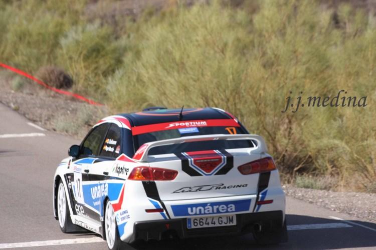 Santiago Cañizares-José Martín, Mitsubishi Evo X N plus