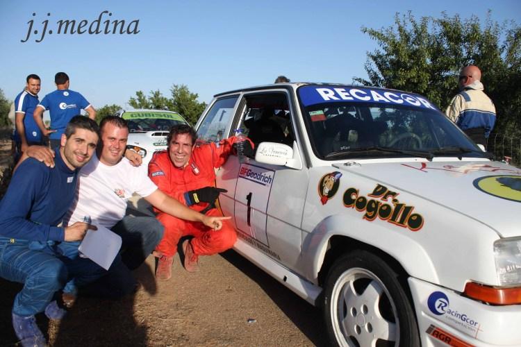 Rafael Valverde, manolo Muñoz y Juan de León