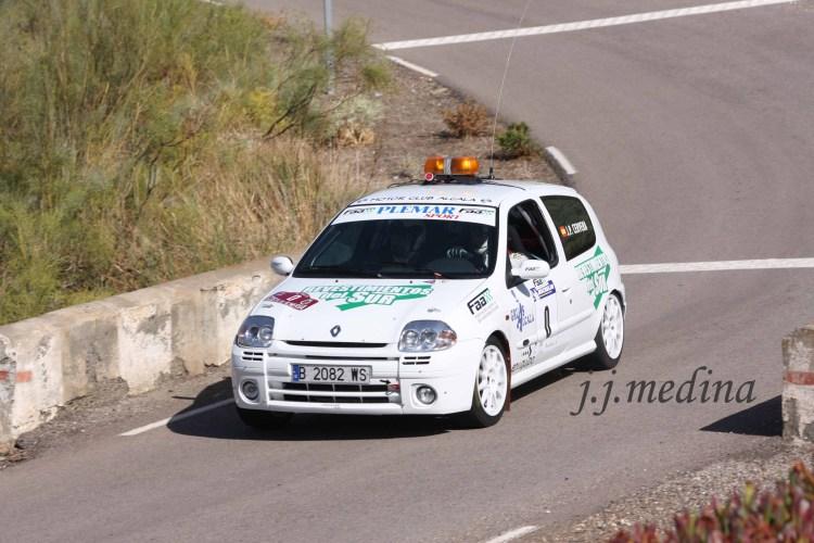 José Pérez-José Ignacio Callillo, Renault Clío Sport, coche 0