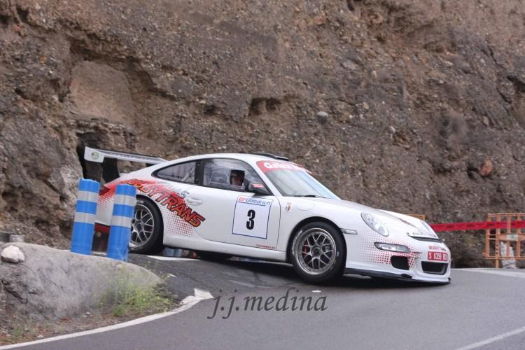 Pedro Cordero-Paco Fuentes, Porsche 997 GT3 Cup Rally