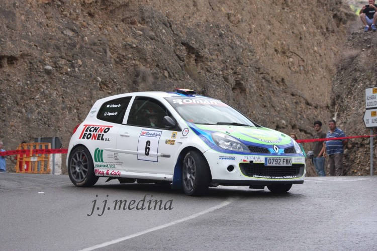 FJosé María Zapata-Antonio Pérez, Renault Clio R3