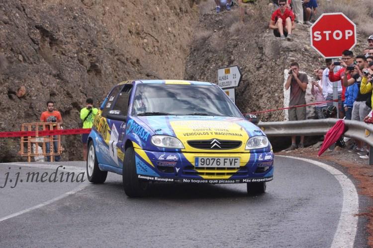 Germán Lea-Juan Carlos Ruiz, Citroën Saxo