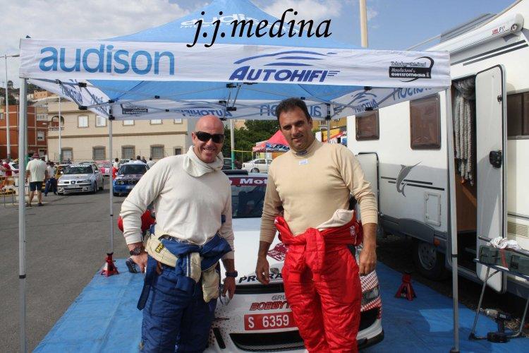 Paco Fuentes y Pedro Cordero