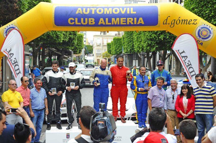Podium 40 Rallye Costa de Almería