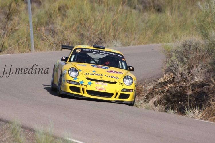Manuel  Maldonado-José García Ferri, Porsche 997 GT3 Cup Rally
