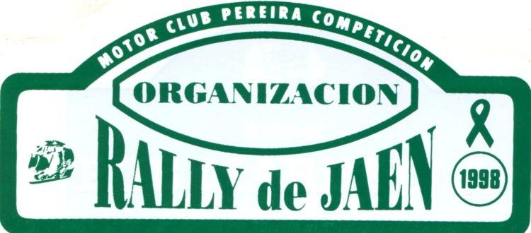 Rally de Jaén 1998