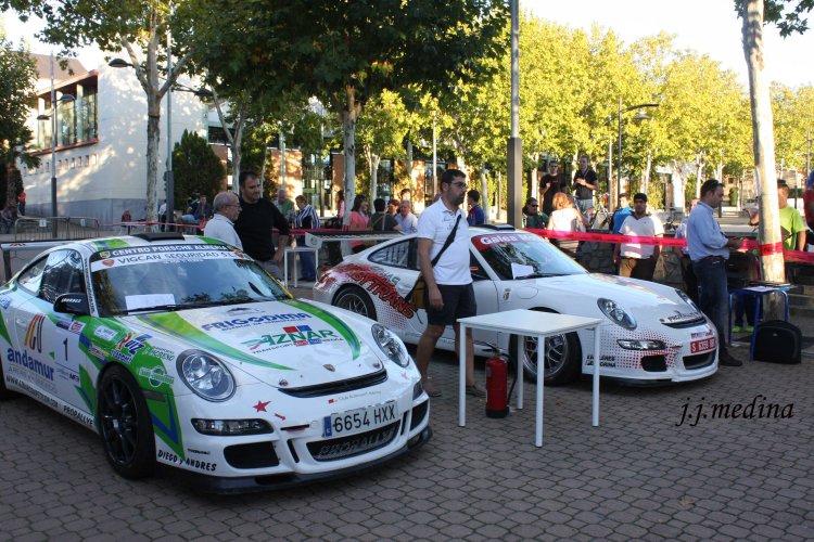 Porsches 911 (997 GT3 Cup Rallye de Aznar y Cordero