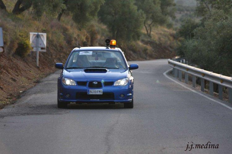 Rubén Sánchez, Subaru Imprezza, coche triple cero