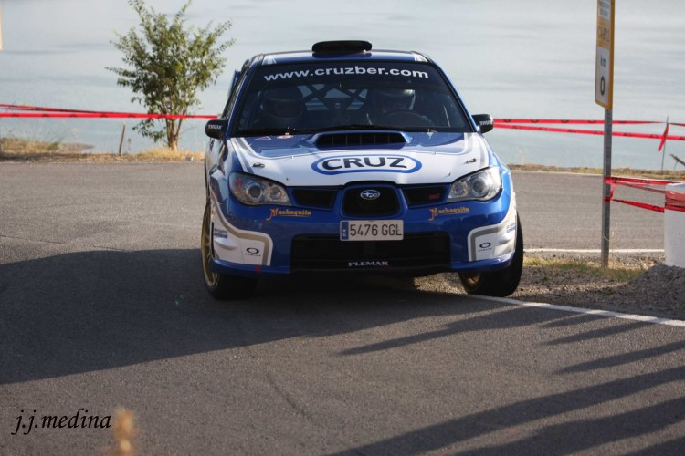 Francisco Jiménez-Alberto Chamorro, Subaru Impreza