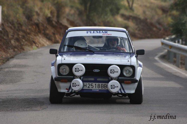 Juan José Romero-Ávila y Concha Casado, Ford escort MkII