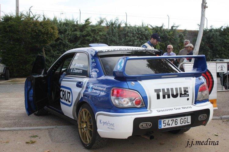 Francisco Jiménez-Alberto Chamorro, Subaru Imprezza