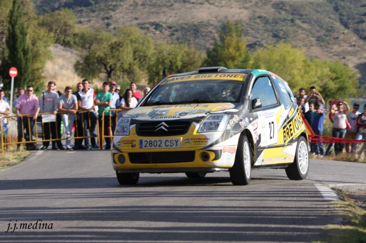 Javier Vázquez-Antonio Martínez, Citroën C2