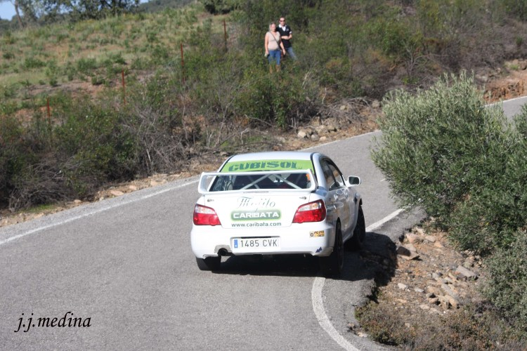 Juan Ángel Ruiz-José Antonio González, Subaru Imprezza