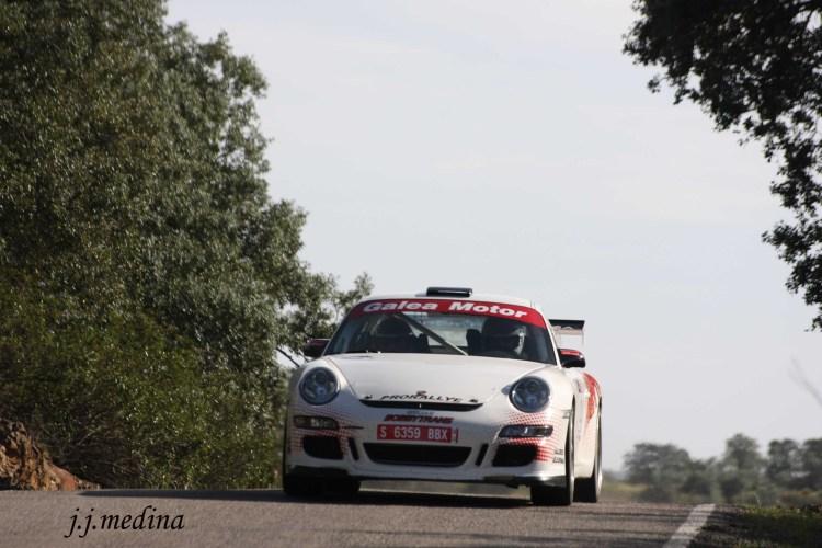 Pedro Cordero-Francisco Cruz, Porsche 997 GT3 Cup Rallye