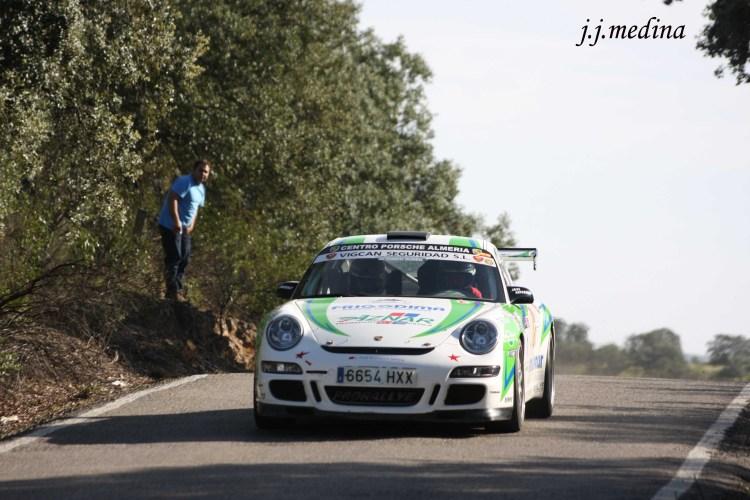 José Antonio Aznar-José Crisanto Galán, Porsche 997 GT3 Cup Rallye