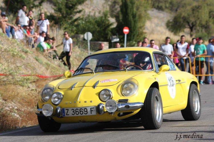 Enrique Lledó-Pablo Gómez-Millán, Renault Alpine A110