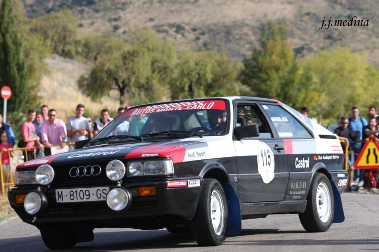 Amador Jaén-Manuel Fernández, Audi Coupé
