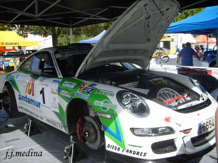 Asistencia Porsche 997 GT3 de Aznar-Galán
