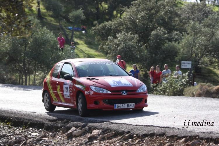 Rafael Galán- Cristina Calero, Peugeot 206