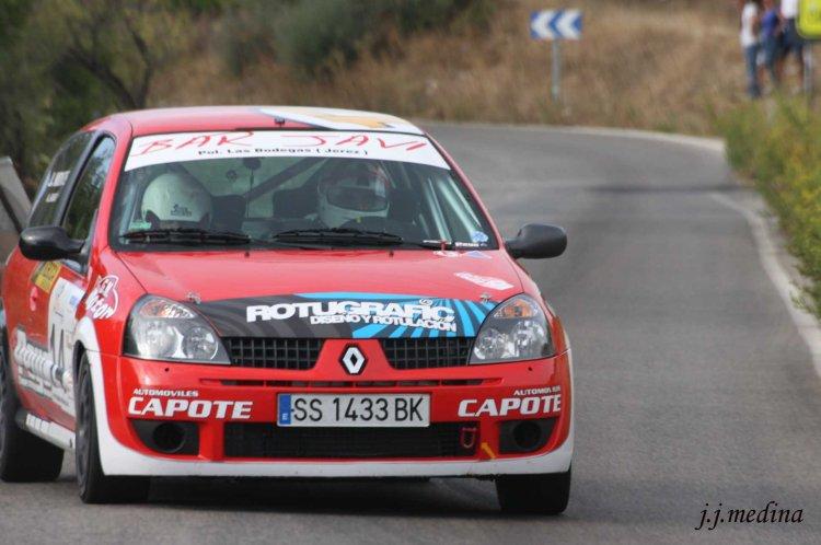 Alberto García-Javier Montes, Renault Clio Sport