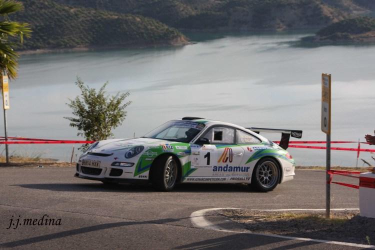 José Antonio Aznar-José Crisanto Galán, Porsche 997 GT3 Cup Rally