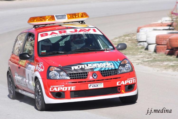 Alberto García, Renault Clio Sport