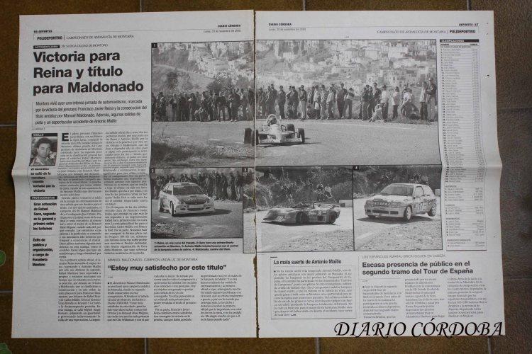 Reportaja Subia a Montoro 2000 Diario Córdoba