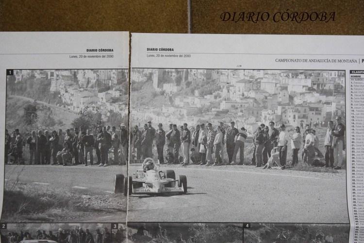 Francisco Javier Reina, Fórmula Opel Lotus, Subida a Montoro 2000