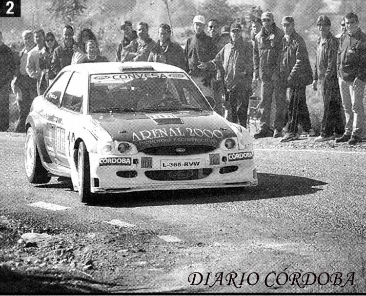 Rafael Saco, Ford Escort Maxi, Subida a Montoro 2000