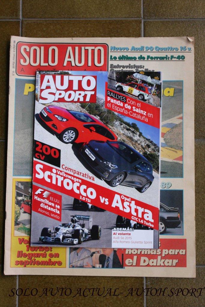 Solo Auto Actual y Autohebdo Sport