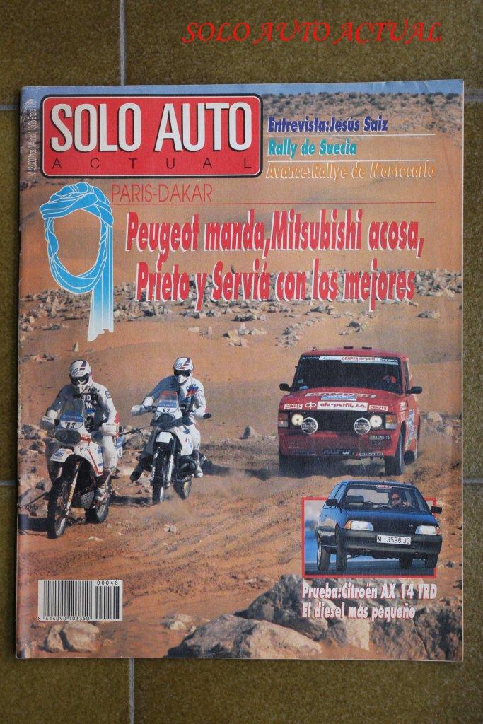 Solo Auto Actual, nº 48, Enero 89