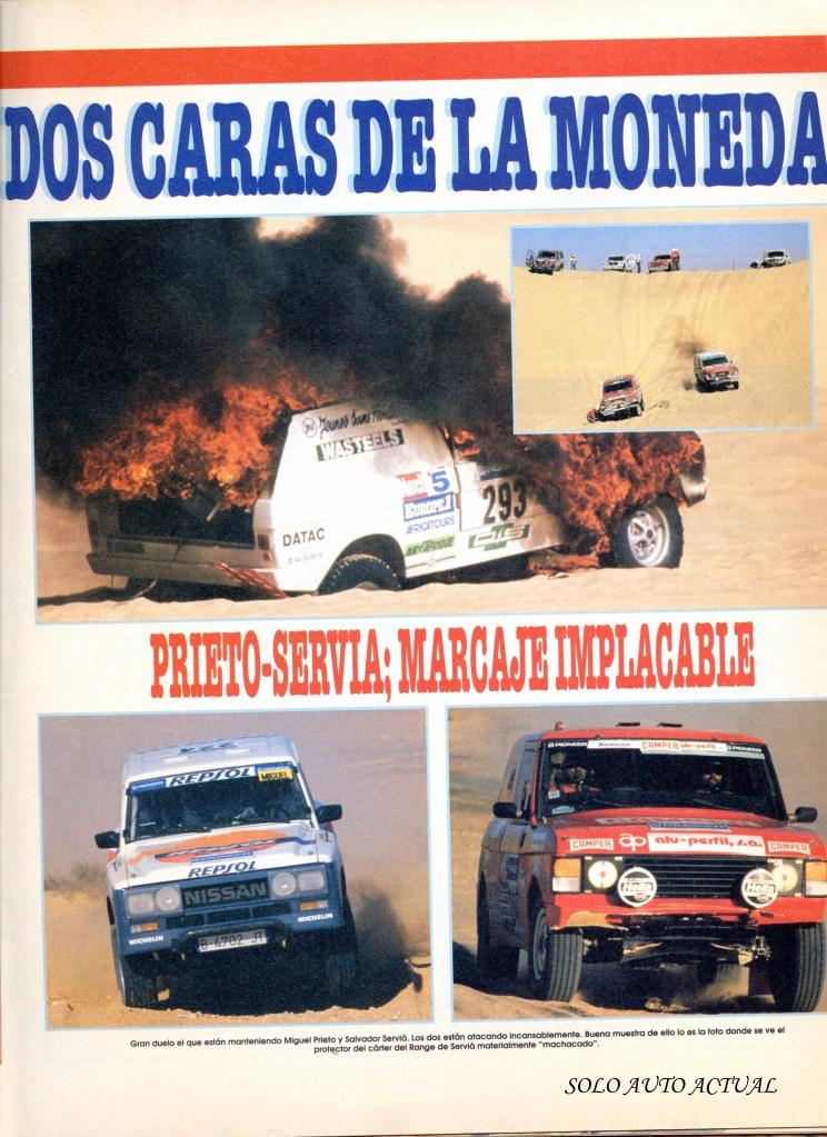 Solo Auto Actual nº48, París-Dakar 89