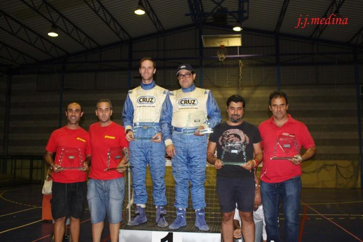 Podium Rallye Sierra de Cádiz