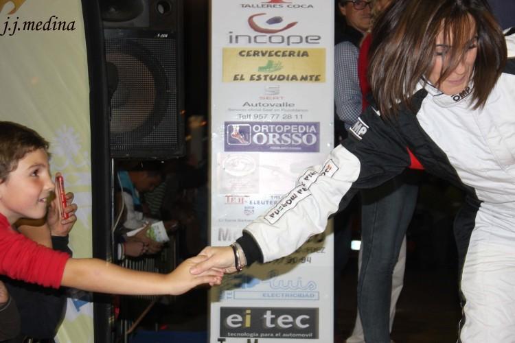 Luisa María Benítez, Rallye de Pozoblanco