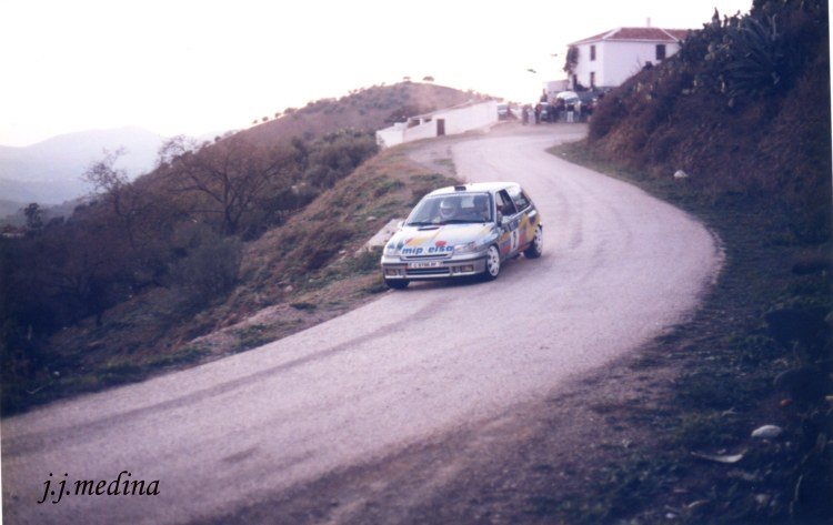 Rafael  Palomares, Renault Clio Williams