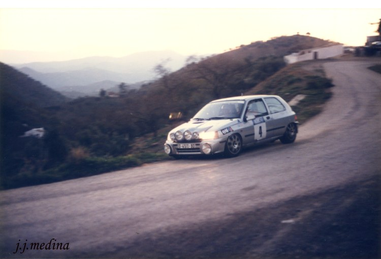 Enrique Villar, Renault Clio Williams
