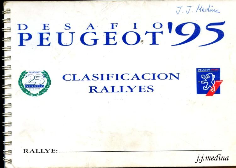 Bloc de tiempos Desafío Peugeot 95