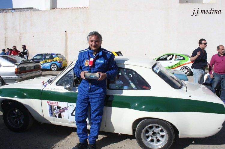 Agustín Blázquez, Rallye de Ugíjar