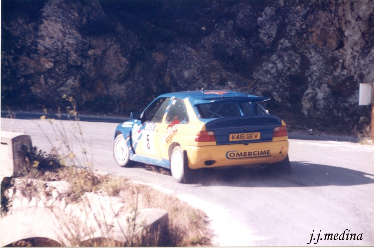 Carlos Delgado, Ford Escort Cosworth