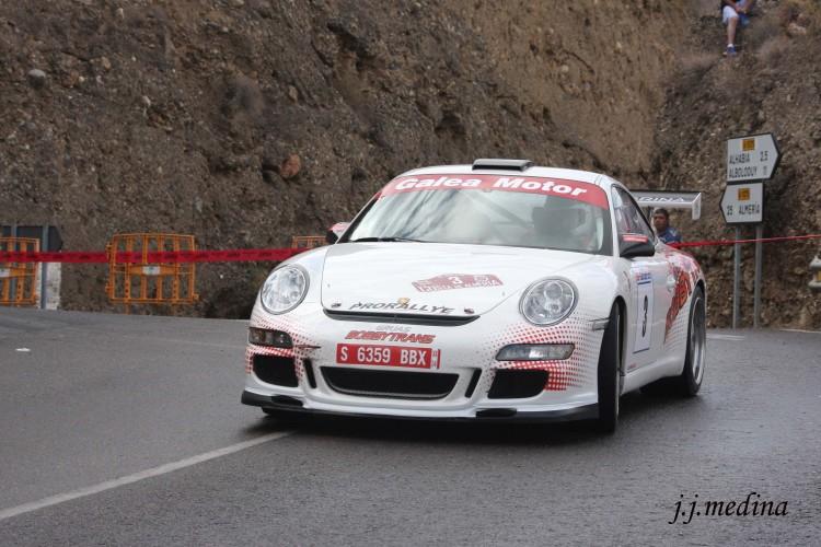 Pedro Cordero, Rallye  Costa de Almería