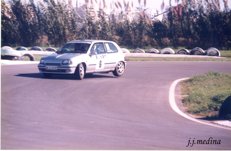 Juan Díaz, Renault Clio Williams