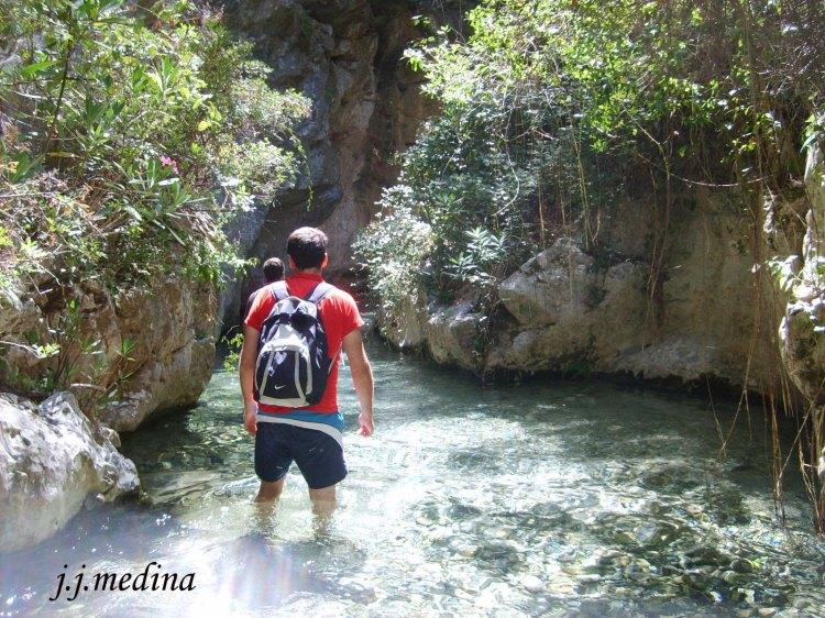 Río Bocaleones, Zahara de la Sierra