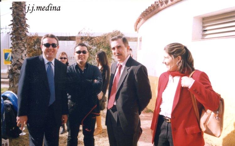 José Antonio Teruel, Francisco Molino, José Luis Toril y Petra Boquoi