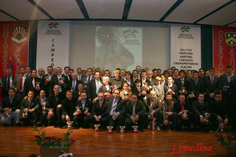 Galardonados temporada 2007