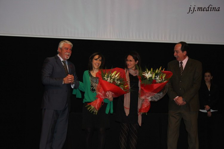 Francisco Melero, Luisa María Benítex, Ana Isabel Torralbo y Francisco Javier Arenas