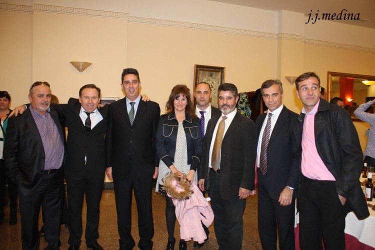 José María Serviá, Fina Román y otros
